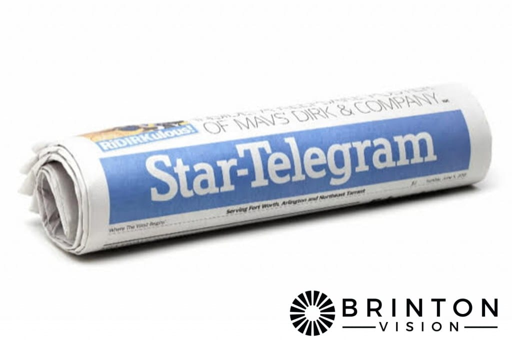 Dallas Ft Worth Star Telegram First Toric ICL